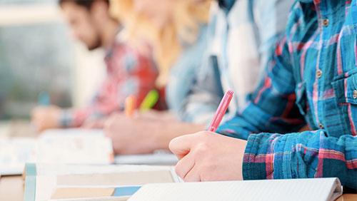 Prüfungen in der Sprachschule